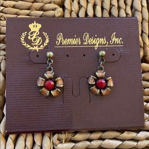 Premier Designs Gypsy Drop Earring Pierced NWT